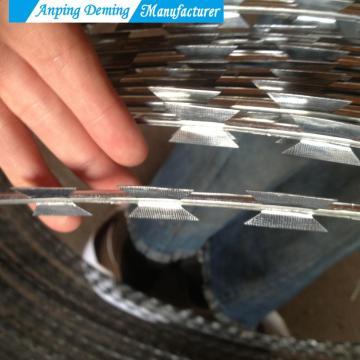 Good Quality Hot Dip Galvanized Razor Wire