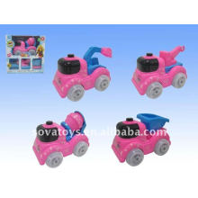 FP plastic cartoon mini truck toy