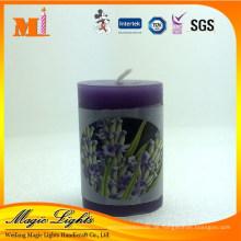 Lavendel duftende Stumpenkerze zum Verkauf