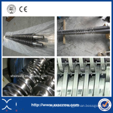 Plastic Extruder Conical Twin Screw Barrel
