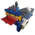 Máquina formadora de rollos de tejas de chapa ondulada