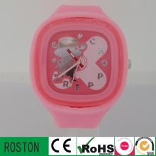 Moda Infantil Relógios com Banda Plástica