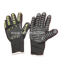 TPR Gloves Anti Vibration Mechanic Gloves Electrodrill Gloves Work Glove