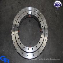 Rolamento de giro de rolo cruzado de uma única linha, rolamento de anel giratório, rolamento de anel giratório com preço baixo