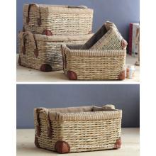 (BC-ST1066) Hot-Sell Handcraft Natural Straw Basket