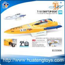1:12 Масштаб беспроводной пульт дистанционного управления рыболовных лодок приманки 750 Тип Мотор R / C Москито стремительно лодки