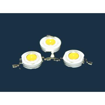 3 Вт Теплый белый светодиод высокой мощности