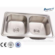 Küchenarmatur tragbare Fettfalle malaysia Edelstahl freistehende Spüle