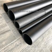 China CNER 3K carbon fiber tube made in zibo carbon fiber tube in Carbon 25mm 20mm 30mm
