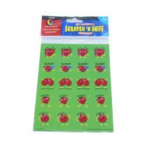 Sticker décoratif de personnages de dessin animé de Scrapbook Kids de belle bande dessinée, autocollant décoratif d'impression de fraise