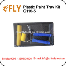 Foam Roller Brush Paint Tray Set