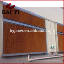 Evaporative Air Cooler Wet Curtain para aves de corral / invernadero / taller