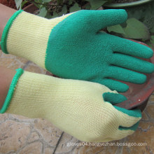 Rubber Palm Coated Construction Work Glove