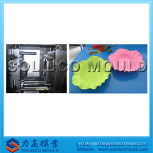 Household plastic injection fruit vegetable dish mould/fruit plate mould