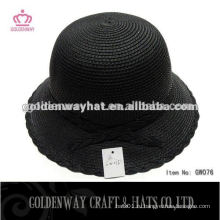 Женская шапочка шляпа женская летняя мода соломенная шляпа женские формальные шляпы