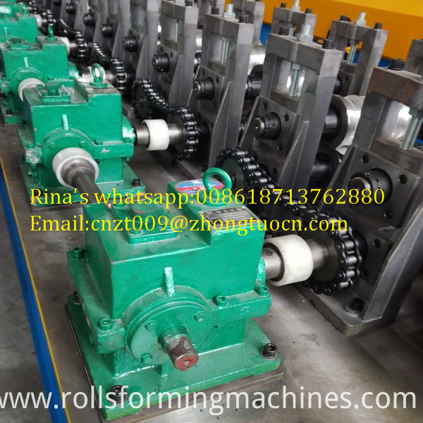 gear box transmission shutter door roll forming machine  6
