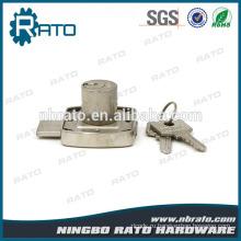 Регулируемая сплава цинка шкаф стальной железном шкафу замок с ключом