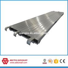 Échafaudage pleine planche de bois d'aluminium 7 ', 8', 9 '