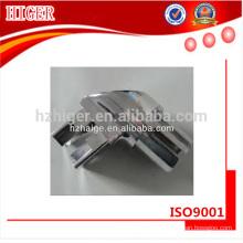 conector de canto de alumínio custing feito-à-medida