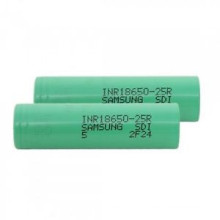 Rechargeable 18650 2500mAh Lithium-Ion Battery 25A