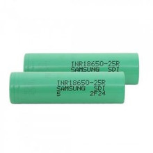 Best Li-ion Battery 18650 Battery 2500mAh 3.7V Lithium-Ion Battery Samsung-25r