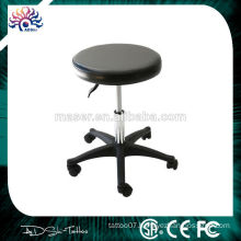 Gold supplier China high quality round tattoo stool