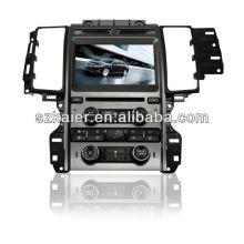 Tela sensível ao toque de 8 polegada dupla zona wince carro MP4 player para Ford Taurus com GPS / Bluetooth / Rádio / SWC / Virtual 6CD / 3G / ATV / iPod