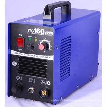 Durable inversor DC MMA / TIG máquina de soldadura para la industria ligera TIG160A