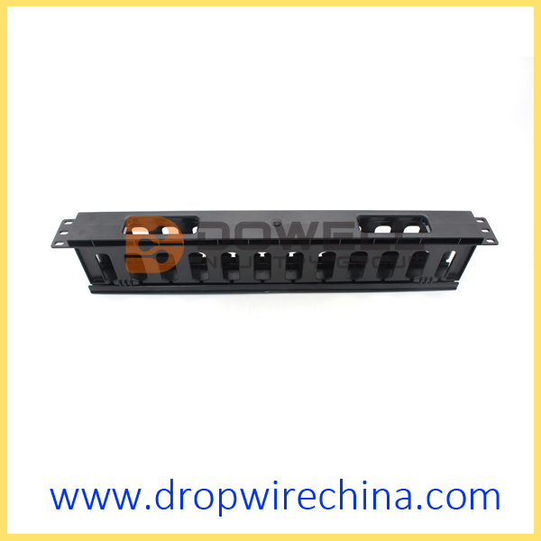 19 inch plastic cable manger panel