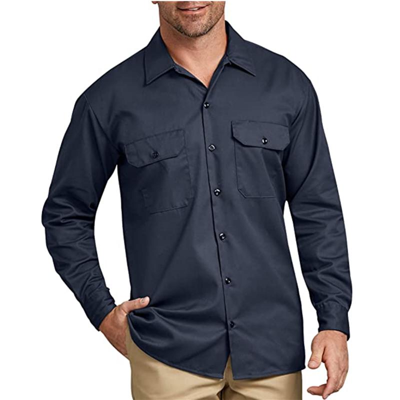 Men S Long Sleeve Work Shirt