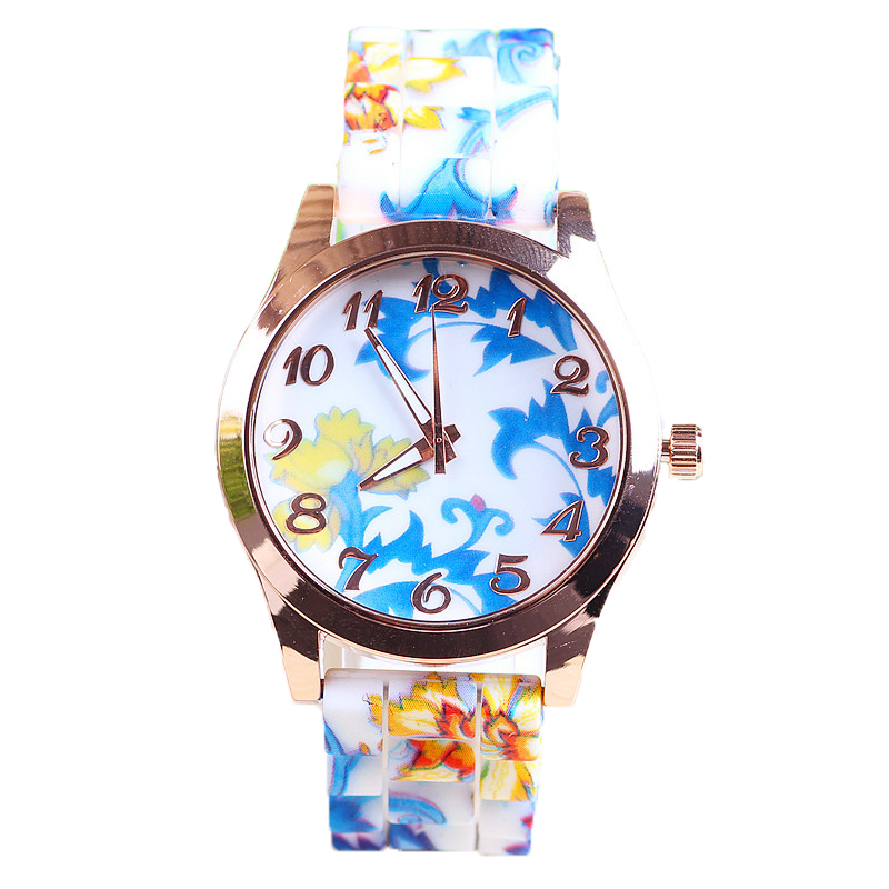 New Arrival Girls Silicone Band Watch