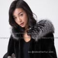 Mink Fur Reversible Women Coat