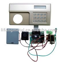 Intelligent electronic code safe locks