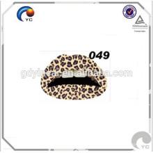 Etiqueta engomada temporal personalizada del tatuaje (serie del teletipo de los labios)