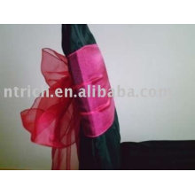 Organza sashes, decoration chair sashes,chair wraps,chair ties