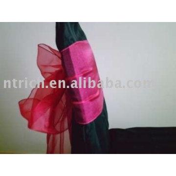 Organza sashes, decoration chair sashes,chair wraps,chair ties