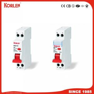 Residual Current Circuit Breaker with over load protection 1p Size C32A 30Ma 3KA MINI RCBO