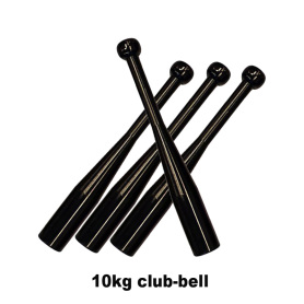 10KG India Steel Clubbell