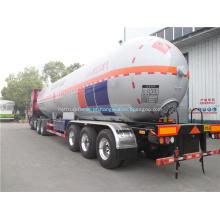 60000 litros de caminhão de tanque de óleo de reboque de tanque de combustível