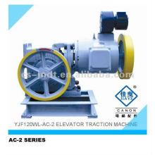 Componentes de AC2 dos velocidad Levante la máquina del engranaje de 630-750KG