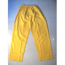 Yj-6001 Waterproof PVC Rain Suit Yellow Raincoats Rain Jackets for Men Women