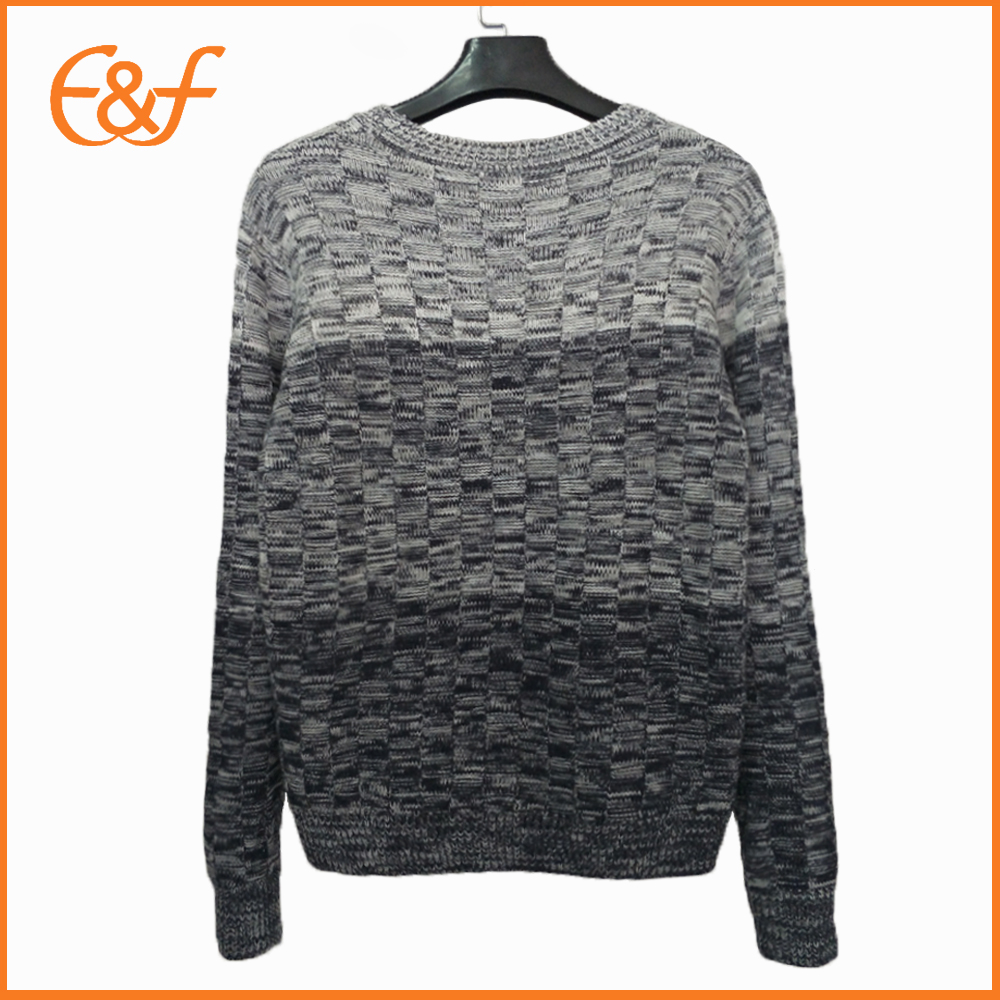 Fancy Yarn Mens Long Sleeve Sweaters