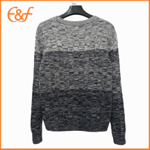 Fancy Yarn  Mens Long Sleeve Sweaters For Guys