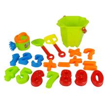 Пластмассовая игрушка лета малышей пляжа песка установила (H9690043)