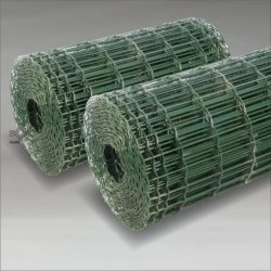 Green Coated Euro Fence for Europe Market