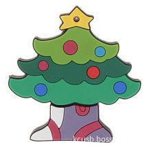 Customized Usb Flash Drive With Company Logo , Christmas Tree Shape