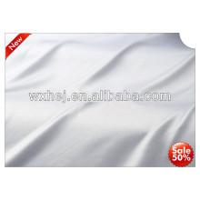 precio de fábrica blanqueado tela blanca lisa del hotel del 100% algodón