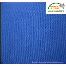 Trabajo real use la tela cruzada del algodón del poliester