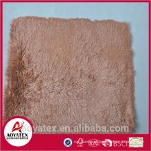 Poliéster tapete shaggy tapete brilhante lowes preços, antiderrapante longo pele tapetes de piquenique, alta qualidade tapete de revestimento promocional