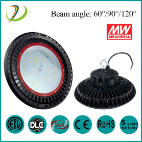 150W Meanwell driver UFO High Bay licht